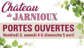 intro Chateau Jarnioux cuvage Yvan et Marie Laure Aujogue portes ouvertes