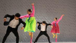 intro north korea dance