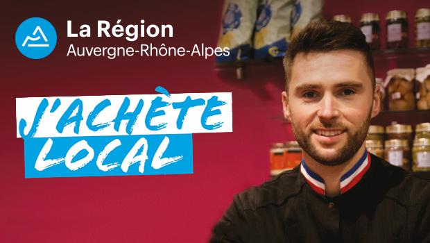 Intro Region Auvergne rhone alpes j achete local