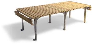 andree putman chaise longue reglable