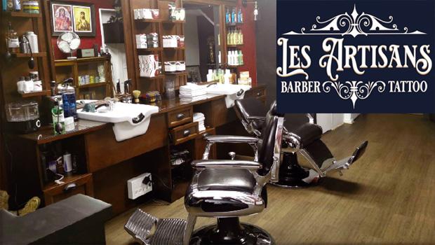 intro les artisans barber tatouage