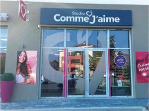 COMME JAIME belleville en beaujolais vitrine