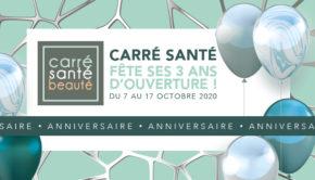 intro CARRE SANTE belleville en beaujolais anniversaire 3ans ouverture