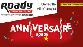intro Roady belleville en beaujolais anniversaire