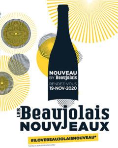 BEAUJOLAIS DAYS 2020 affiche beaujolais nouveau 2020