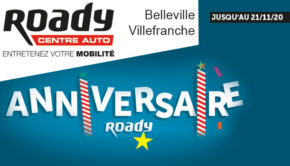 intro Roady belleville en beaujolais anniversaire promo novembre 2020