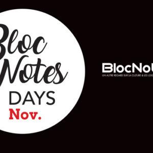 intro blocnotes days novembre 2020