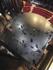 theatre villefranche technique vue de haut