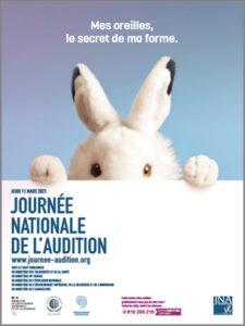 affiche Journee Nationale de lAudition 11 mars 2021 24e edition