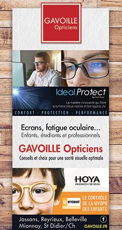 Gavoille opticiens pub BN354