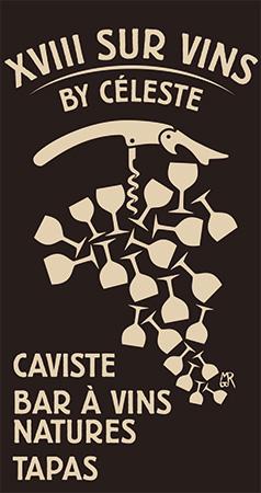 XVIII sur vins by celeste logo
