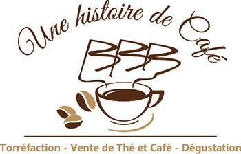 une histoire de cafe logo